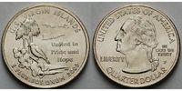1/4 $ 2009 P USA Virgin Islands /P - Kupfer-Nickel - vz  4,00 EUR  +  7,00 EUR shipping