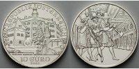 10 Euro 2002 Österreich Schloss Ambras, ( Schlösser ) vz/stgl  36,50 EUR  +  17,00 EUR shipping