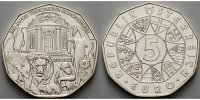 5 Euro 2002 Österreich 250 Jahre Schönbrunn, ( Schlösser ) stgl/vz  20.22 US$ 18,00 EUR  +  12.36 US$ shipping