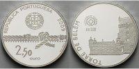 2,5 Euro 2009 Portugal Turm von Belem, (UNESCO) inkl. Etui & Zertifikat... 52,50 EUR  +  17,00 EUR shipping
