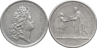 Medal 1717 (r) Russia - France  aUNC