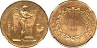 100 Francs 1909 France France 1909-A Repub...