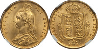 Half Sovereign 1887 Great Britain Great Br...