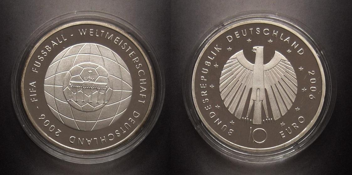 10 00 2006 Deutschland Fussball Wm 2006 In Deutschland Proof