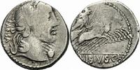 Denar 90 v. Chr. Rom Republik Vibius Pansa...