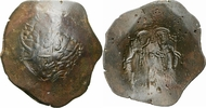 Billon Aspron Trachy 1195-1203 Byzanz Byza...
