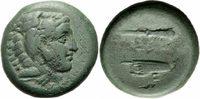 Bronze 336-323 v.  Makedonien Alexander II...